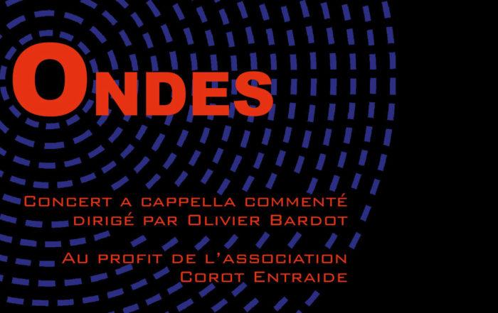 « Ondes », un concert de Noël commenté, pour l'association Corot Entraide
